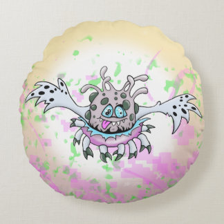 STOUFFER ALLIEN CARTOON GRADE A COTTON ROUND CUSHION