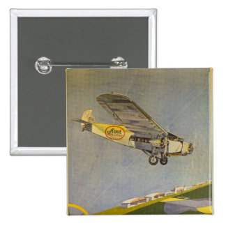Stout Airlines 15 Cm Square Badge