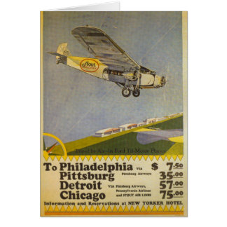 Stout Airlines Cards