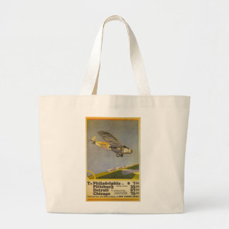 Stout Airlines Canvas Bags
