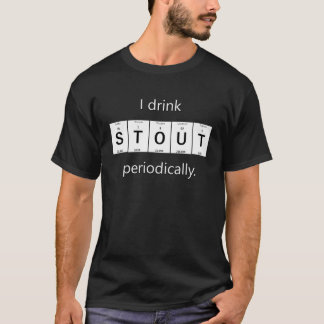 Stout Beer Elemental Chemistry T-Shirt