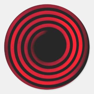Stove Coils Classic Round Sticker