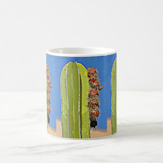 Stove Pipe Cactus Bulbs in Bloom Coffee Cup