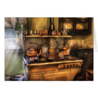 Stove -  What's for dinner Greeting Card