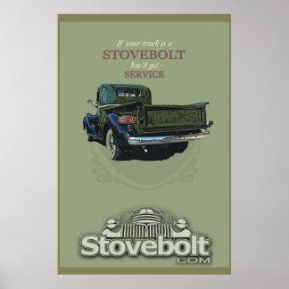 Stovebolt Service Poster