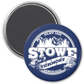 Stowe Old Circle Blue Magnet