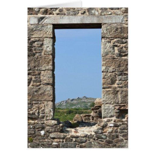 Stowe's Hill Window, Minions, Cornwall, UK Cards