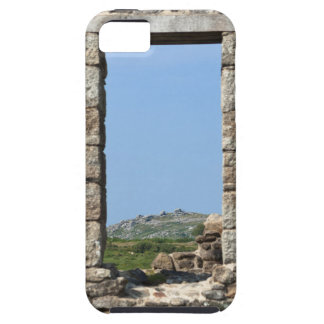 Stowe's Hill Window, Minions, Cornwall, UK iPhone 5 Cover