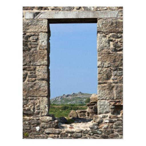 Stowe's Hill Window, Minions, Cornwall, UK Postcard
