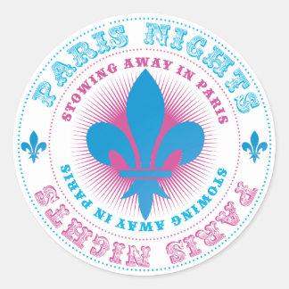 Stowing Away In Paris Stickers