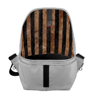 STR1 BK-MRBL BR-STONE MESSENGER BAG