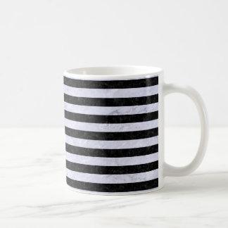 STR2 BK-WH MARBLE COFFEE MUG