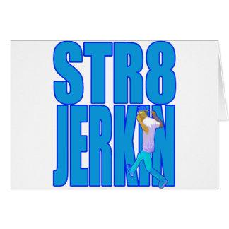 STR8 JERKIN jerk jerking dance hip-hop rap music Cards