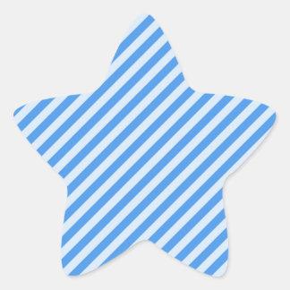 [STR-BLU-01] Blue candy cane striped Stickers