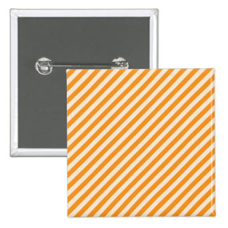 STR-OR-1 Orange and white candy cane striped Buttons