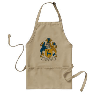 Strachan Family Crest Standard Apron