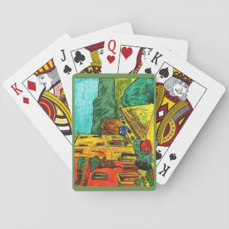 Strada di Artisti - Deck of playing cards