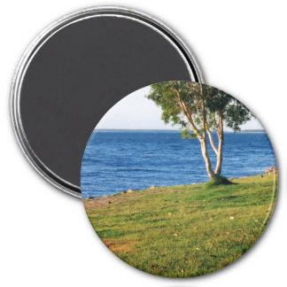 Stradbroke Island 7.5 Cm Round Magnet