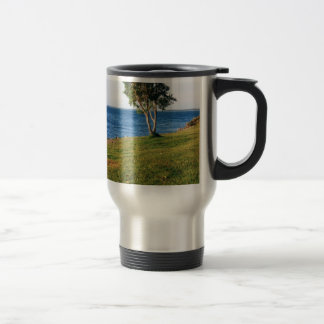 Stradbroke Island 15 Oz Stainless Steel Travel Mug