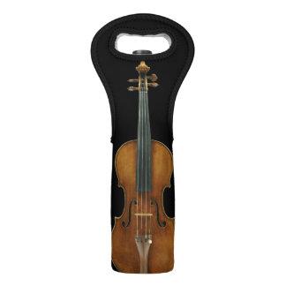 Stradivari Violin Wine Bag