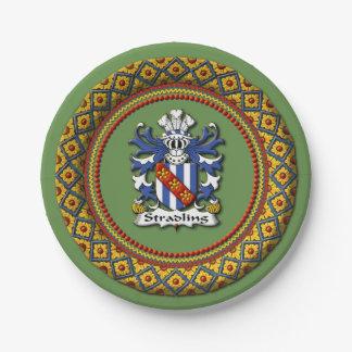 Stradling Crest Paper Plates
