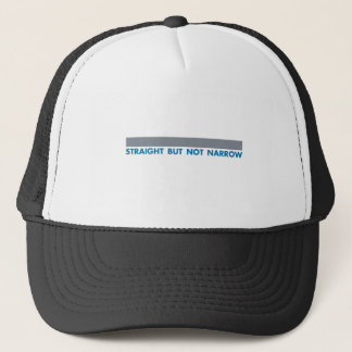 STRAIGHT BUT TRUCKER HAT
