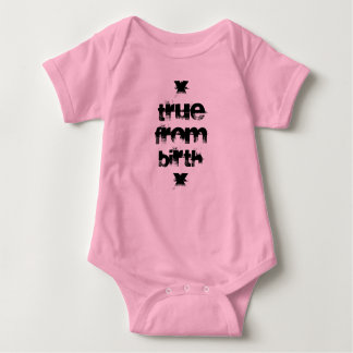 Straight Edge Baby Bodysuit