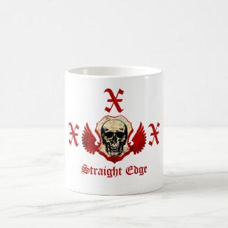 Straight Edge Coffee Mug