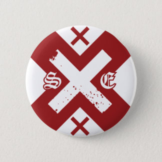 Straight Edge (G) 6 Cm Round Badge