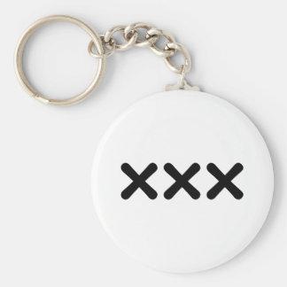 straight edge - punk key ring