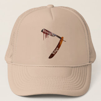 Straight Edge Straight Razor Trucker Hat