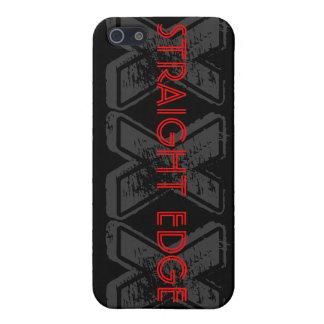 STRAIGHT EDGE XXX  CASE FOR iPhone 5/5S