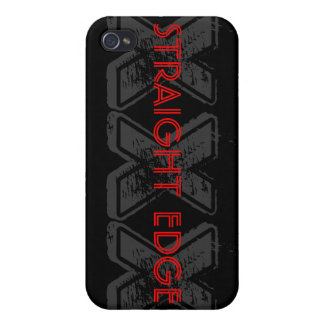 STRAIGHT EDGE XXX  iPhone 4 CASE