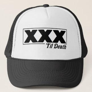 straight edge XXX 'til Death logo cap