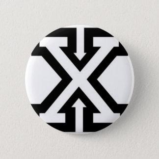 straight-edge-xxx-wp 6 cm round badge