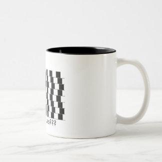 Straight Lines??? Two-Tone Mug