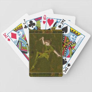 Straight On Till Morning Poker Cards