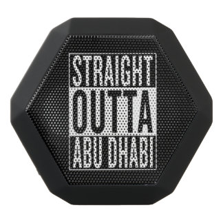 straight outta Abu Dhabi Black Bluetooth Speaker