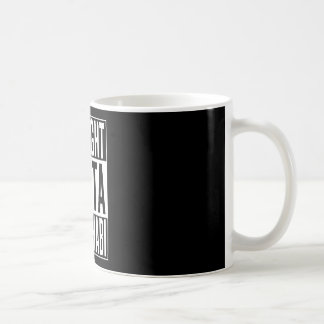 straight outta Abu Dhabi Coffee Mug