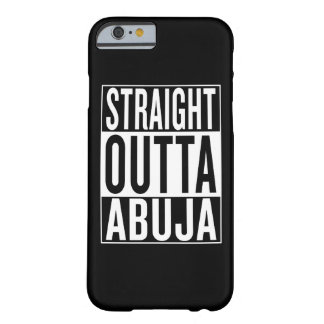 straight outta Abuja Barely There iPhone 6 Case