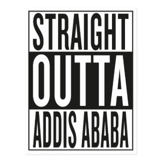 straight outta Addis Ababa Postcard