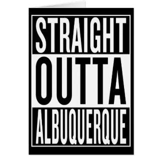 straight outta Albuquerque Card