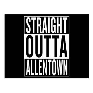 straight outta Allentown Postcard