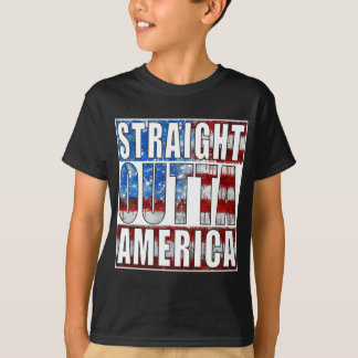 Straight Outta America Tees
