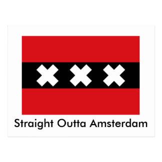 Straight Outta Amsterdam postcard