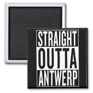 straight outta Antwerp Magnet
