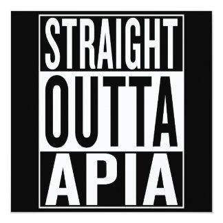 straight outta Apia Card