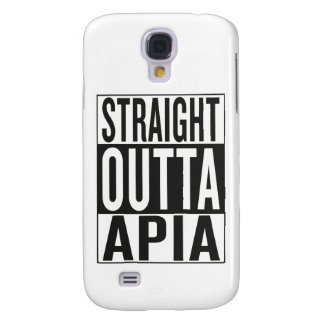 straight outta Apia Samsung Galaxy S4 Covers