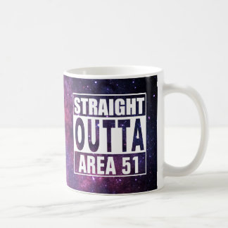 Straight Outta Area 51 Coffee Mug