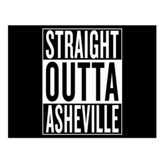 straight outta Asheville Postcard